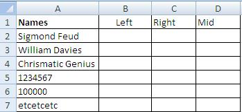 MS Excel left right mid function to extract text-2